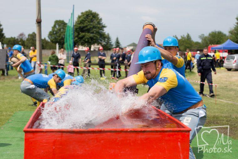 Územná hasičská súťaž Dobrovoľných hasičských družstiev okresov Piešťany a Hlohovec